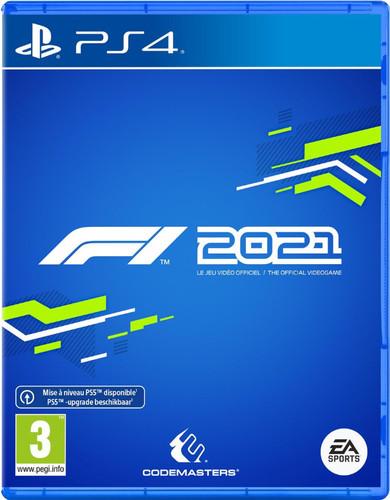 F1 2021 PS4 Main Image