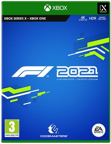 F1 2021 Xbox Series X & Xbox One Main Image