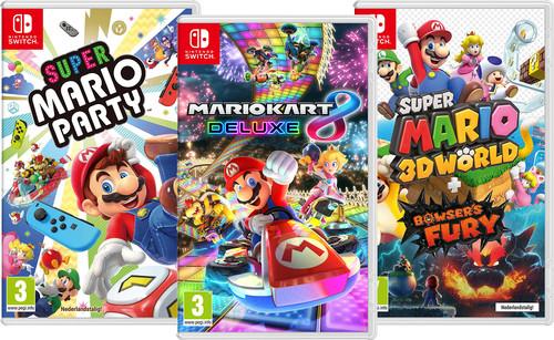Mario Games Bundel Main Image