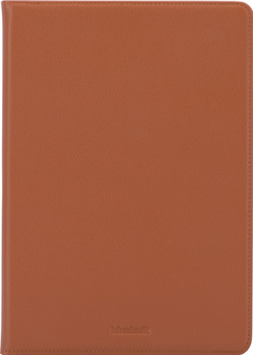 BlueBuilt Apple iPad (2020)/(2019) en iPad Air (2019) Book Case Leer Bruin Main Image