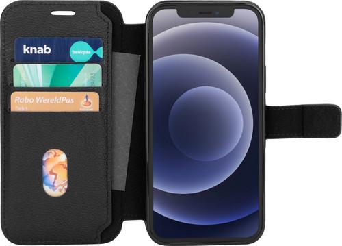 BlueBuilt iPhone 12 / 12 Pro Book Case Leer Zwart Main Image