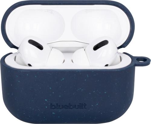 BlueBuilt Hoesje voor AirPods Pro Composteerbaar Donkerblauw Main Image