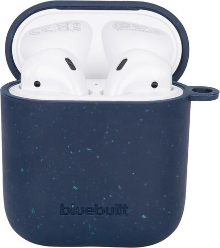 BlueBuilt Hoesje voor AirPods gen 1/2 Composteerbaar Donkerblauw Main Image