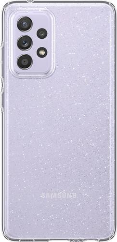 Spigen Liquid Crystal Glitter Samsung Galaxy A72 Back Cover Transparant Main Image