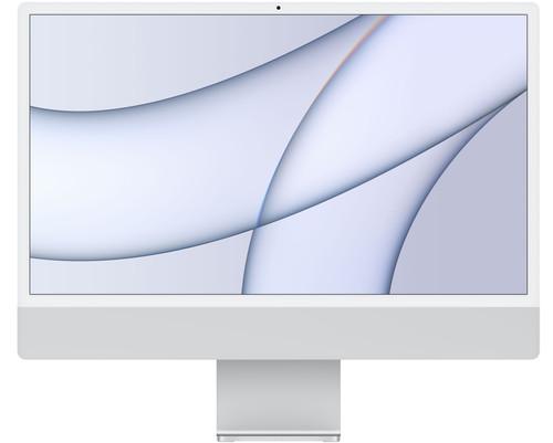 Apple iMac 24 inches (2021) MGPC3N/A 8GB/256GB 8-core GPU Silver Main Image