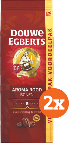 Douwe Egberts Aroma Rood koffiebonen 2 kg Main Image