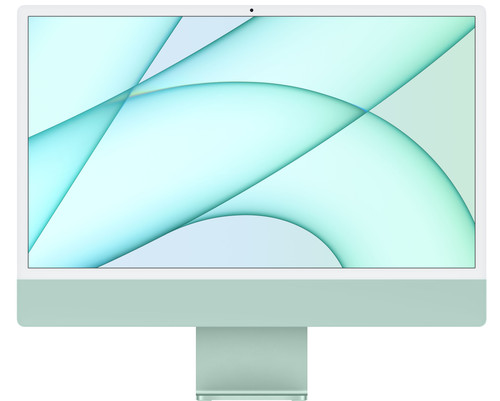 "Apple iMac 24"" (2021) MJV83N/A 8GB/256GB 7 core GPU Groen Main Image"