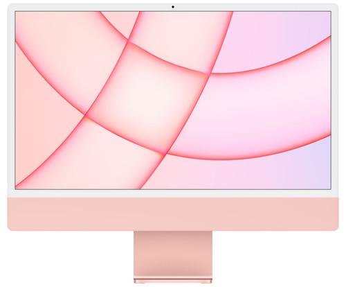 "Apple iMac 24"" (2021) MGPM3N/A 8GB/256GB 8-core GPU Pink Main Image"