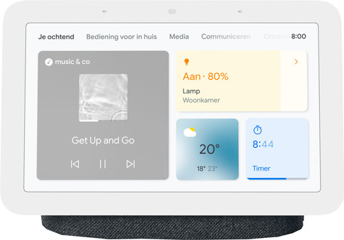 Google Nest Hub 2 Charcoal Main Image