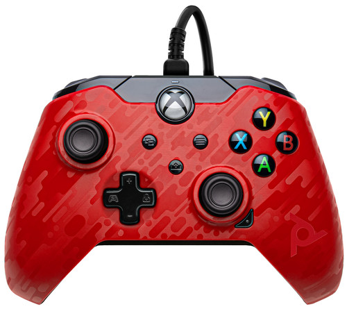 PDP Bedrade Controller Xbox Series X en Xbox One Rood Main Image
