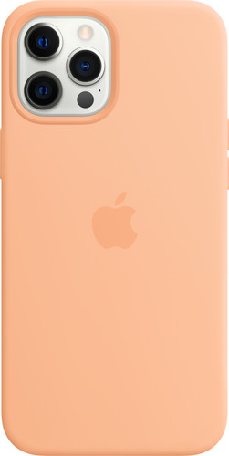 Apple iPhone 12 Pro Max Silicone Back Cover met MagSafe Cantaloupe Main Image