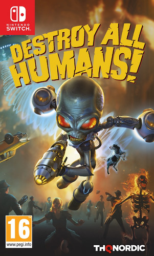 Destroy All Humans Nintendo Switch Main Image
