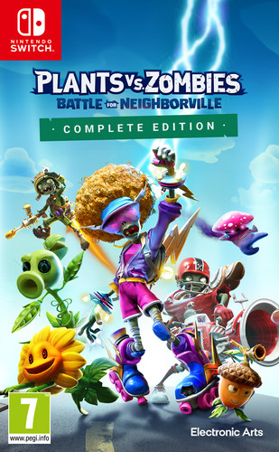 Plants vs Zombies: Battle for Neighborville Complete Edition Nintendo Switch Main Image