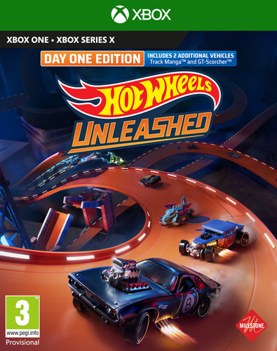 Hot Wheels Unleashed Day One Edition Xbox One Main Image