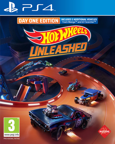 Hot Wheels Unleashed Day One Edition PS4 Main Image