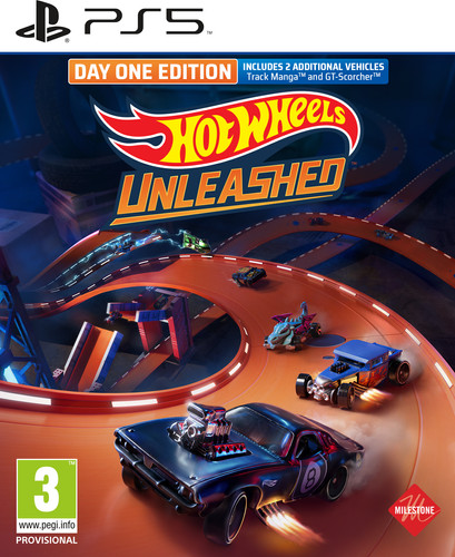 Hot Wheels Unleashed Day One Edition PS5 Main Image