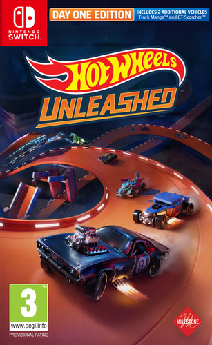 Hot Wheels Unleashed Day One Edition Nintendo Switch Main Image