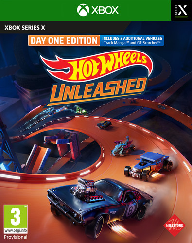 Hot Wheels Unleashed Day One Edition Xbox Series X Main Image