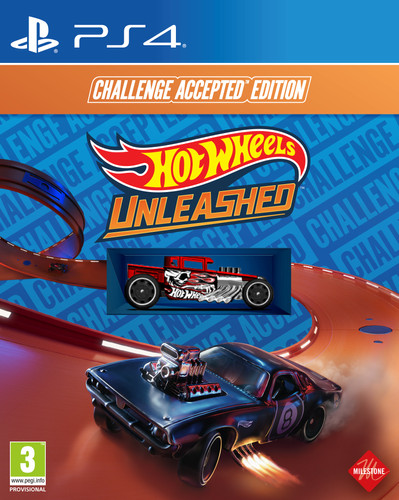 Hot Wheels Unleashed - Challenge Accepted Edition PS4 Main Image