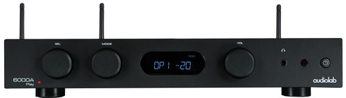 Audiolab 6000A Play Amplifier + Streamer Black Main Image