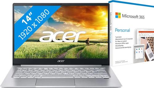 Acer Swift 3 SF314-59-734H + Microsoft 365 Personal NL Abonnement 1 jaar Main Image