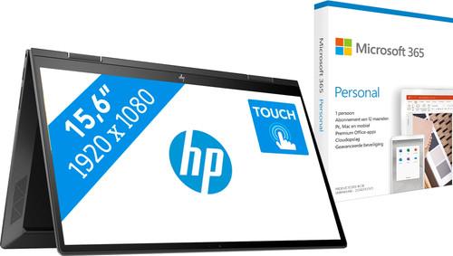 HP ENVY x360 15-ee0957nd + Microsoft 365 Personal NL Abonnement 1 jaar Main Image