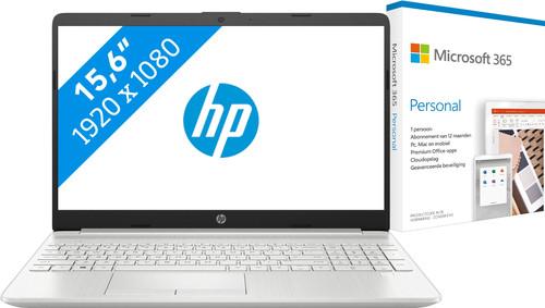 HP 15-dw1008nd + Microsoft 365 Personal NL Abonnement 1 jaar Main Image
