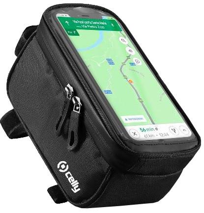 Celly Weatherbike Universele Waterdichte Telefoonhouder met Hoesje Fiets Stuur Main Image
