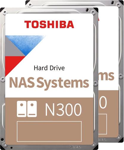 Toshiba N300 NAS Hard Drive 4TB Duo Pack Main Image