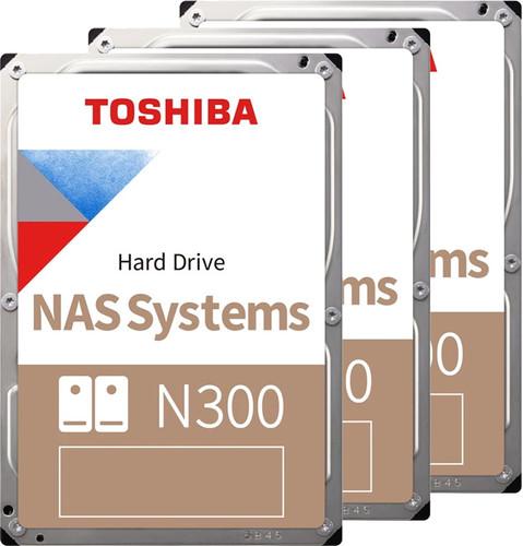 Toshiba N300 NAS Hard Drive 4TB 3-Pack Main Image
