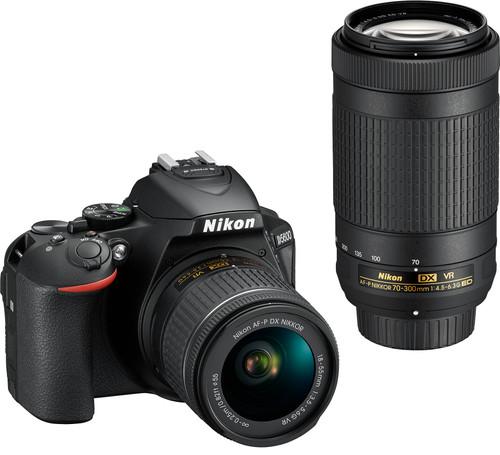 Nikon D5600 + AF-P DX 18-55mm f/3.5-5.6G VR + AF-P DX 70-300mm f/4.5-6.3G ED VR Main Image