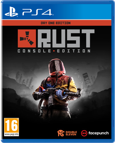 RUST - Day One Edition PS4 Main Image
