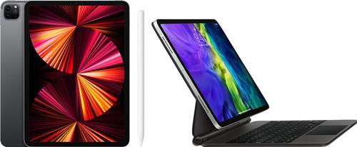 Apple iPad Pro (2021) 11 inch 256GB Wifi Space Gray + Magic Keyboard + Pencil 2 Main Image