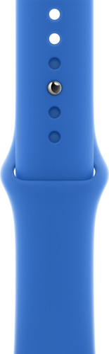 Apple Watch 42/44 mm Siliconen Horlogeband Sport Capri Blauw Main Image