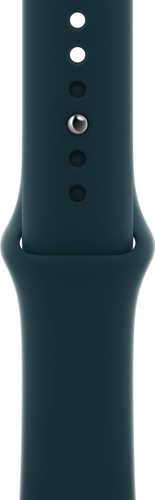 Apple Watch 42/44/45 mm Siliconen Horlogeband Sport Diepgroen Main Image