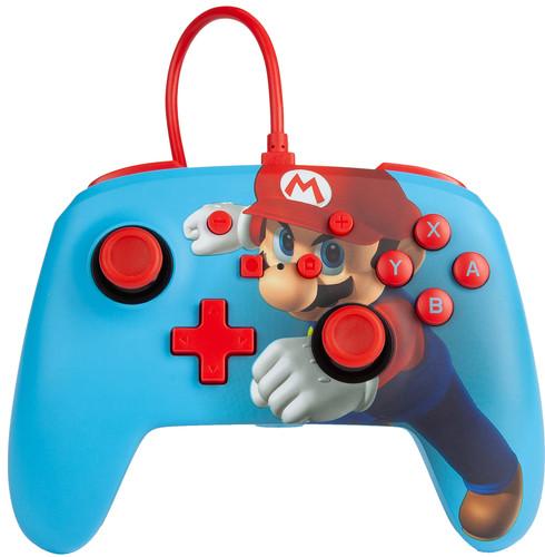 PowerA Enhanced Bedrade Nintendo Switch Controller Mario Punch Main Image