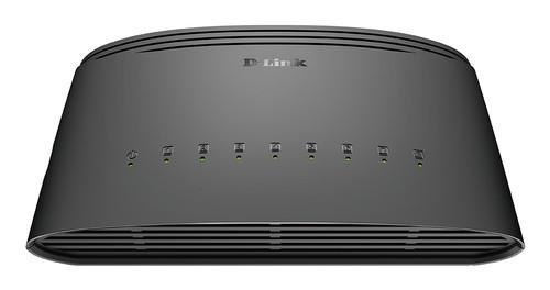 D-Link DGS-1008D 8-poorts Gigabit Switch Main Image