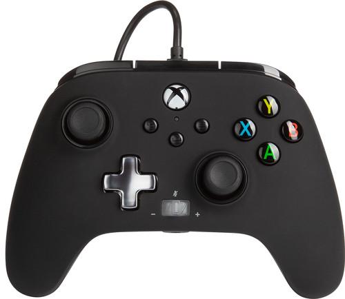 PowerA Enhanced Bedrade Controller Xbox Series X en Xbox One Zwart Main Image