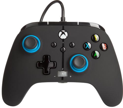 PowerA Enhanced Bedrade Controller Xbox Series X en Xbox One Blauw Main Image