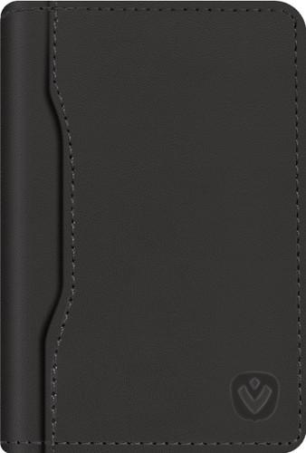 Valenta Snap Card Wallet Leather Black Main Image