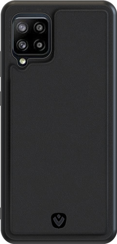 Valenta Snap Samsung Galaxy A42 Back Cover Leer Zwart Main Image