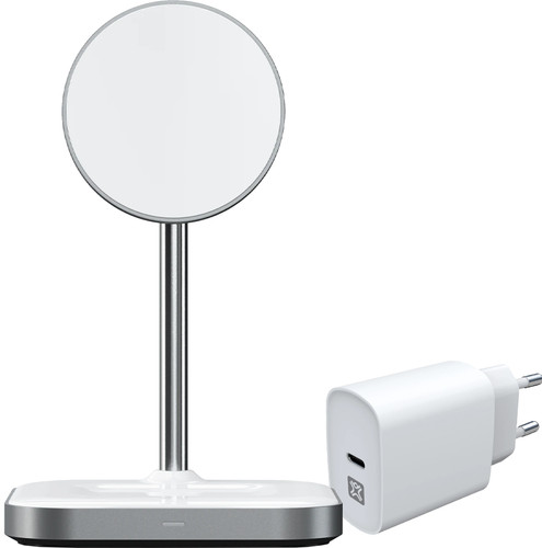 Satechi 2-in-1 Draadloze Oplader met MagSafe Magneet 7,5W + Oplader 20W Power Delivery Main Image
