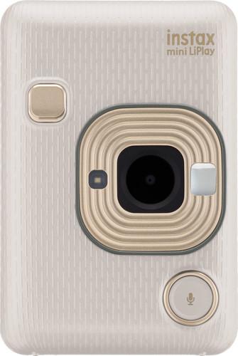 Fujifilm Instax Mini LiPlay Beige Gold Main Image