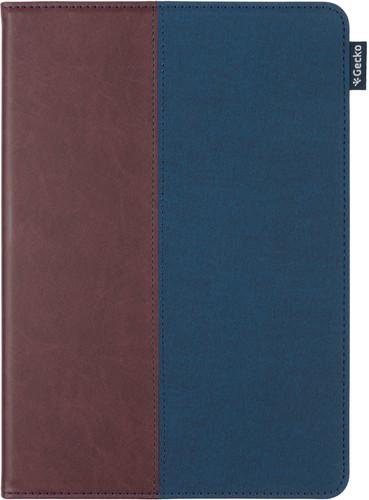 Gecko Covers ColorTwist Easy Click Apple iPad (2020)/(2019) Book Case Bruin/Blauw Main Image