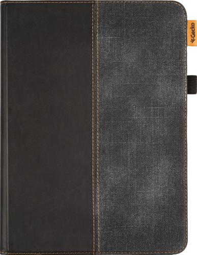 Gecko Covers ColorTwist Easy Click Apple iPad Air (2020) Book Case Zwart/Grijs Main Image