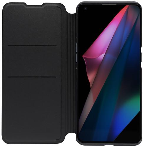 OPPO Find X3 Pro Book Case Black Main Image