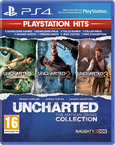 Uncharted: The Nathan Drake CollectionPS4 Main Image