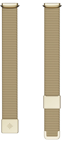 Fitbit Luxe Milanese Strap Gold Main Image