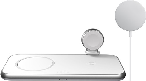 ZENS 3-in-1 Draadloze Oplader + Apple MagSafe Draadloze Oplader 15W Main Image