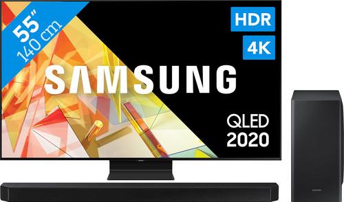 Samsung QLED 55Q95TC + Soundbar Main Image